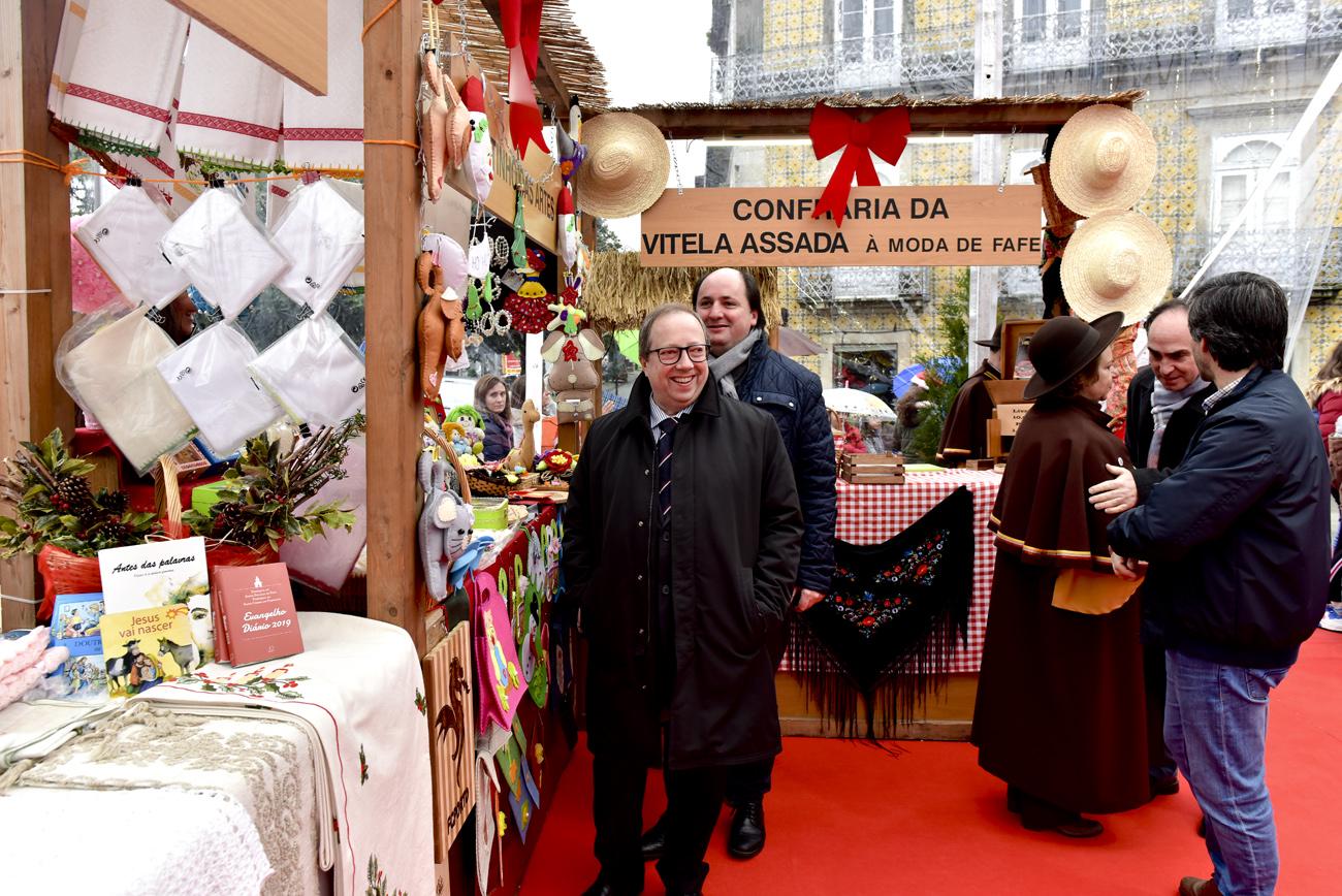 Câmara Municipal Fafe - Mercado de Natal anima Fafe a partir
