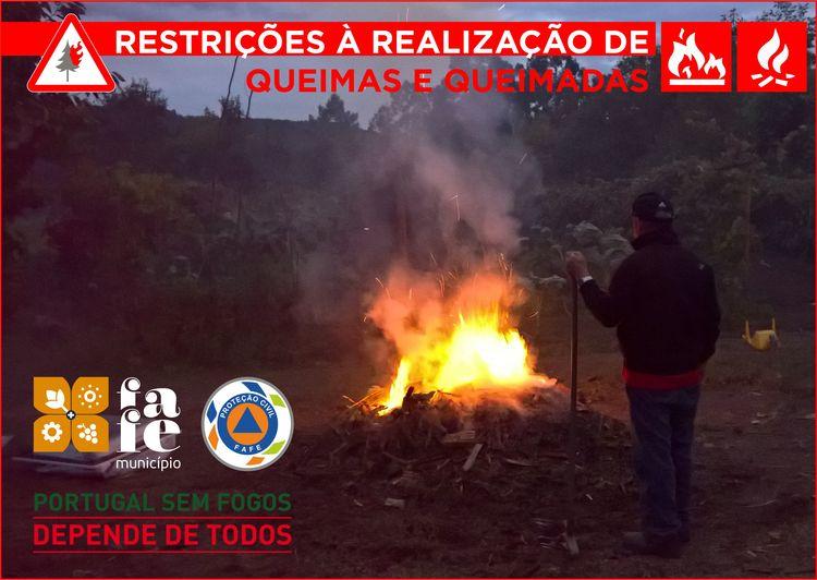 Restricoes queimas e queimadas
