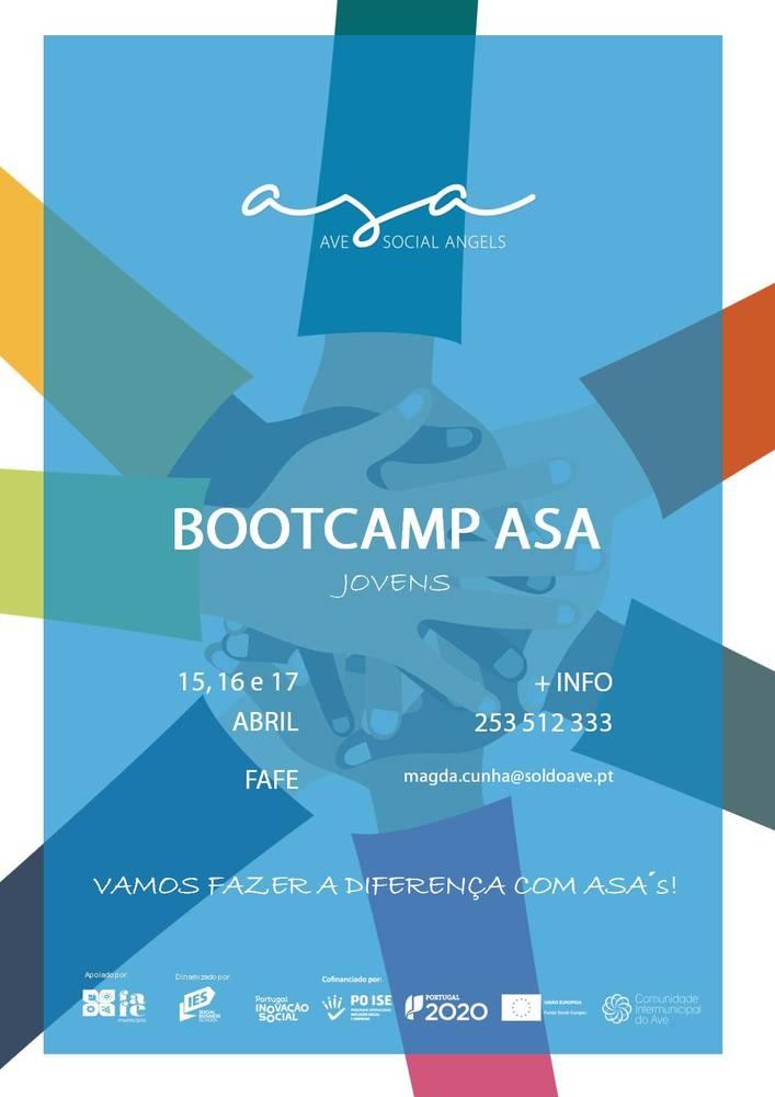 Cartaz bootcamp asa jovens