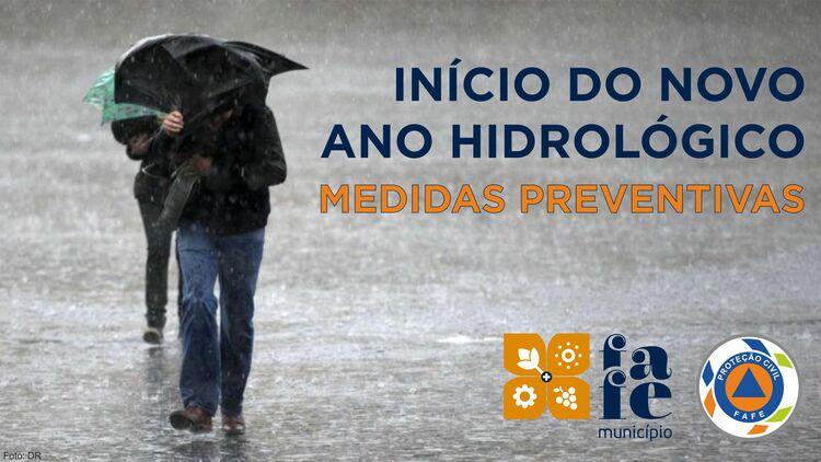 Novo ano hidrologico medidas preventivas