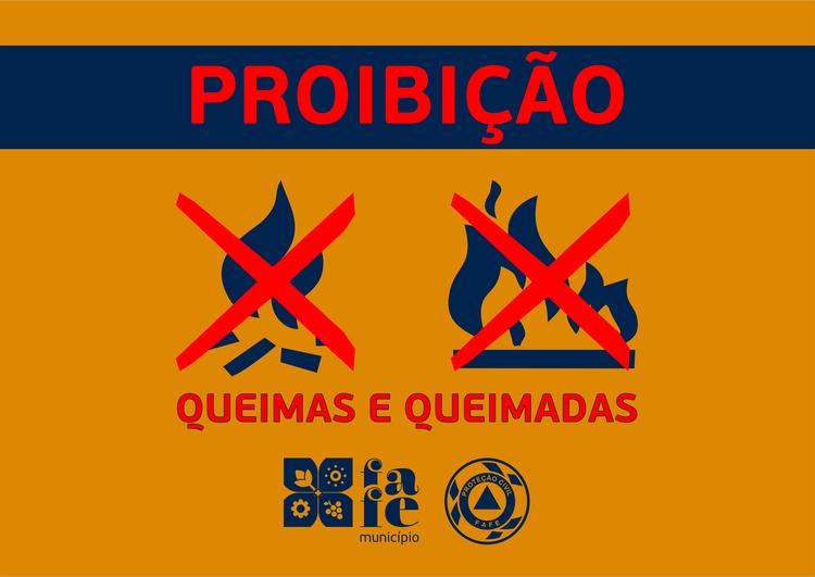 Proibicao queimas e queimadas